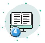 4 ebooks con el curso gratuito de WordPress