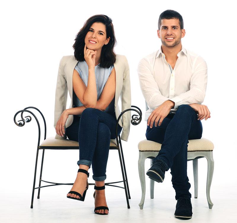 Carolina y Pablo de SrMomo