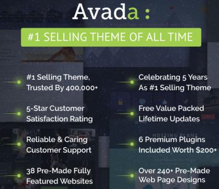 Motivos por los que Avada es una opción potente a considerar.