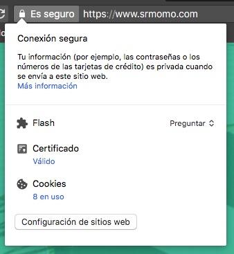 Cómo consultar si una web tiene un certificado SSL.