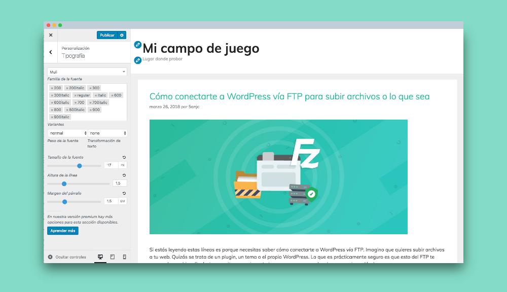 tipografias generatepress: Escoge tu tipografía web entre las miles de tipografías de Google Fonts y sus variables