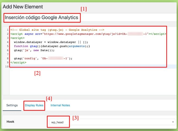 Cómo añadir Google Analytics en GeneratePress