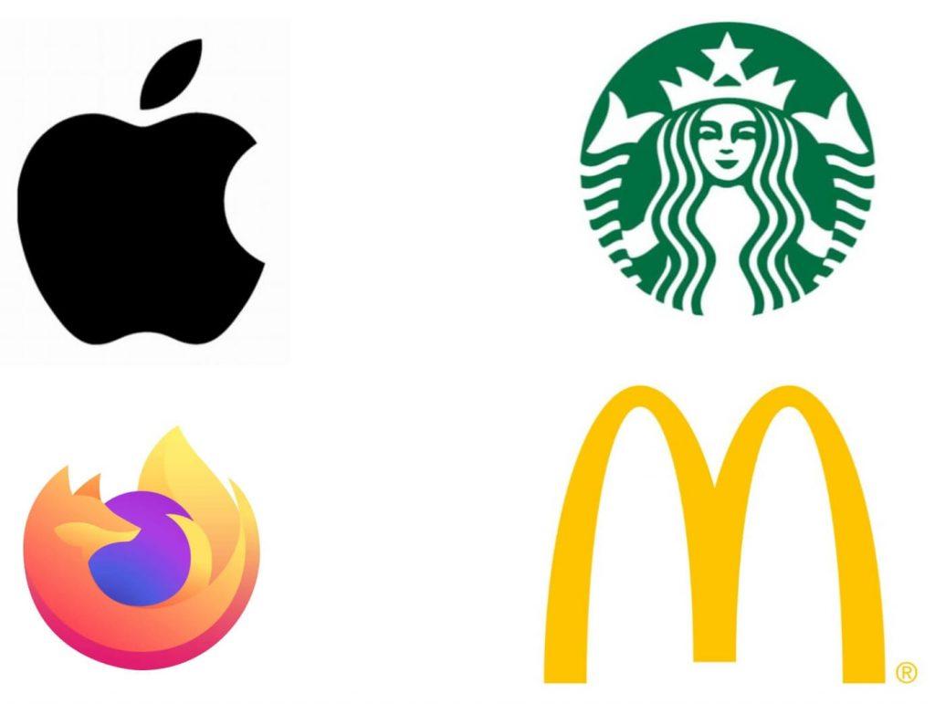 ejemplos de cómo diseñar un logo del tipo isotipo