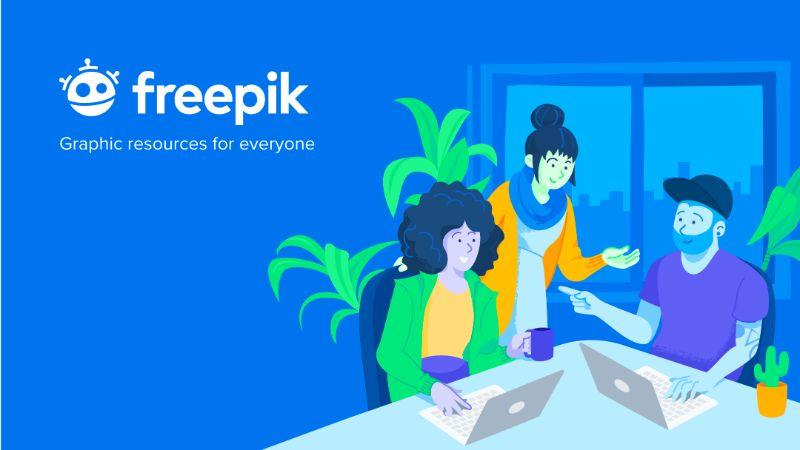 Freepik es un lugar en el que encontrar plantillas gratuitas y de pago para crear un logo